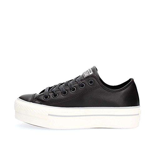 Chaussures 559016c Noires Espadrilles Plates Les Plateforme Femmes Converse tI6xT7q
