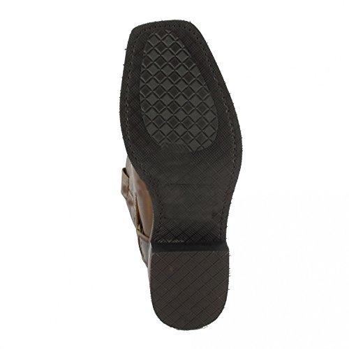 Sendra Boots9809 - Stivali da Motociclista Unisex – adulto Marrone (Mad Dog Tang) Hacer Un Pedido qCRmw64