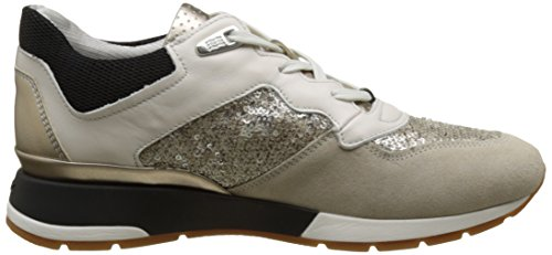 Weiss Platin Shahira D Basses Femme B Sneakers Geox Y0vwP