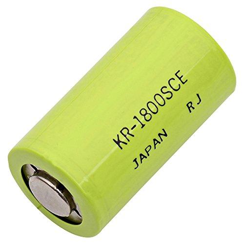 Single Cells Sanyo SC-1800 SANYO Nickel Cadmium (NICD) Battery 1.2 Volts (Sanyo Batteries Nicad)
