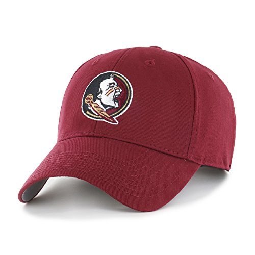NCAA Florida State Seminoles OTS All-Star MVP Adjustable Hat, Cardinal, One Size