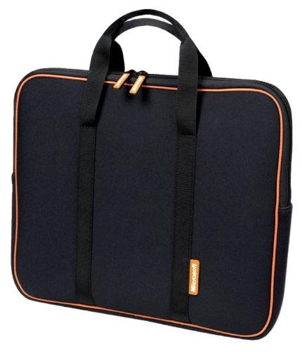 Samsill Microsoft 11/12-Inch Neoprene Laptop Sleeve (Black) (Samsill Laptop Sleeve)