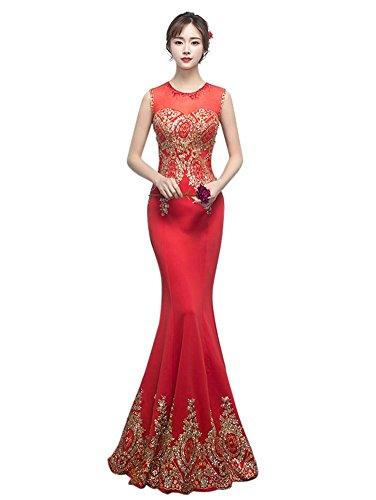 Rot Drasawee Drasawee Schlauch Schlauch Damen Kleid Damen Kleid qn1Rz4H