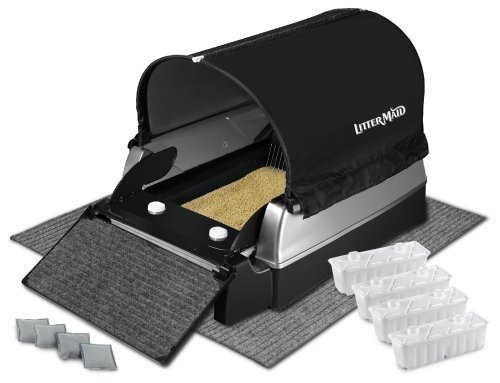 LitterMaid Ultimate Accessories Kit for Elite Mega Automatic Self-Cleaning Litter Box (LMEKT9000MB) ()