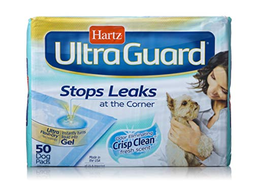 Hartz Ultraguard Dog Pads, 100 Count