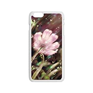 Rain pink dimmed flowers Phone Case for iPhone 6