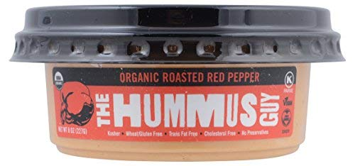 The Hummus Guy, Hummus Roasted Red Pepper Organic, 8 Ounce