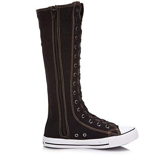 Pictures of rismart Women's Lace Up Tall Punk 6