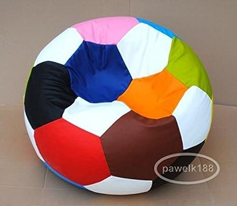 Egato Reposapiés 100 cm Silla cojín Foot niño de balón de fútbol ...
