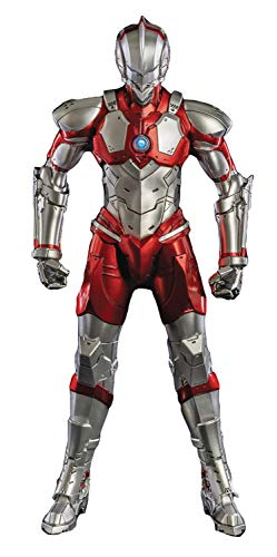 ThreeZero Ultraman (Anime Edition) 1: 6 Scale Action Figure, Multicolor ()