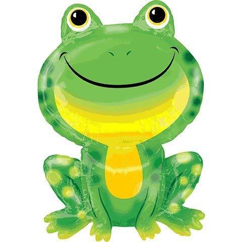Anagram 3709401 Mr Froggy Shaped Supershape Foil Balloon - Frog Shower Baby