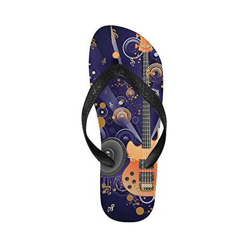 Flops Grunge Sandals D Women Men Beach For Flip Story Funky Guitar Music Yq4wq5
