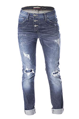 Boyfriend Blue Jeans Scuro Denim Please Dima Donna 3163 P78abq2pl7 gnBzXa