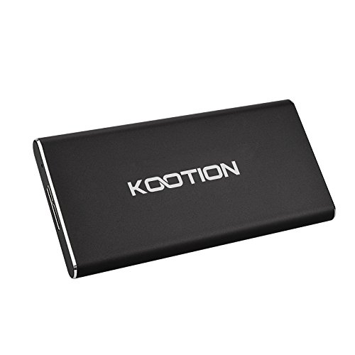 KOOTION Portable SSD 60GB External USB 3.0 Solid State Drive, Black by KOOTION (Image #3)