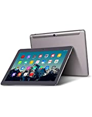 Tablet 10.1 Zoll 4G LTE Dual SIM - TOSCIDO Android 9.0 Zertifiziert von Google GMS,Quad Core,64GM eMMC,4GB RAM,Doppelt Lautsprecher Stereo,WiFi/Bluetooth/GPS,Inklusive Deutscher Anweisungen - Grau
