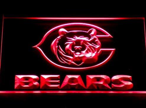 Chicago Bears C Logo Neon LED Caracteres Publicidad Neon ...