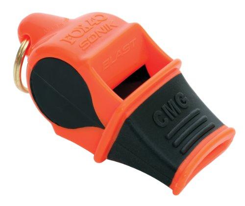 Fox 40 Sonik Blast CMG with Lanyard - Multi Color, Orange/black