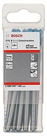 Bosch Mehrzweckbohrer CYL-9 Multi Construction 6 x 60 x 100 mm, 2 608 587 149