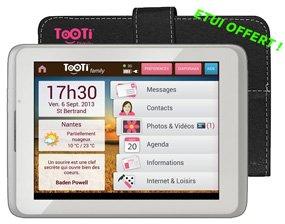 TOOTI Family-Senior, wi-Fi-Tablet de 8