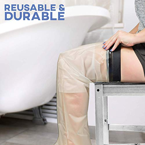 Colux Knee Walker Pad Cover & Watertight Cast