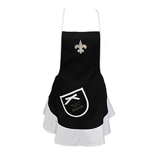 Pro Specialties Group NFL New Orleans Saints Women's Hostess Apron