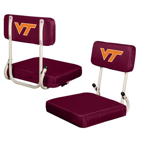 Logo Chair Virginia TECH Hokies Hard Back Stadium SEAT