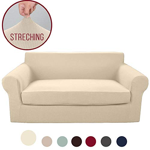 Excellent Top 10 Loveseat Slipcovers With 2 Cushions Of 2019 No Squirreltailoven Fun Painted Chair Ideas Images Squirreltailovenorg