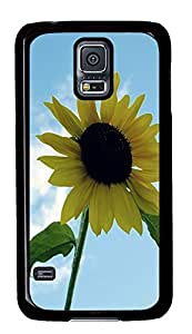 coolest Samsung S5 covers Sunflower PC Black Custom Samsung Galaxy S5 Case Cover
