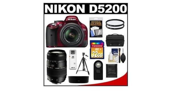 Nikon D5200 Juego de cámara SLR 24.1MP CMOS 6000 x 4000Pixeles ...