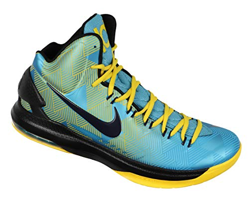 f261f08aa6bf Nike Men s KD VI N7 Basketball Shoes 13 M US Turquoise Blue Yellow