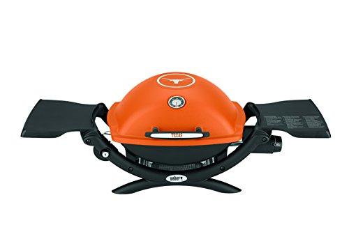 Weber 51060001 Q1200 Liquid Propane Grill, University of Texas Orange