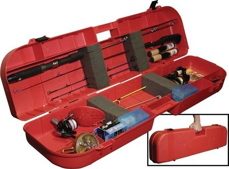 MTM IFB-1-30 Ice Fishing Rod Box (Red)