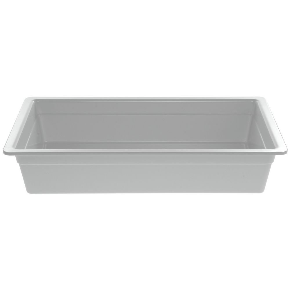 Cold Food Bar Pan Full SizeWhite Melamine - 20 3/4 L x 12 3/4 W x 4