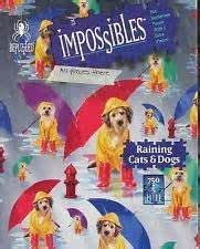 Impossibles Puzzle Raining Cats Dogs Bepuzzled
