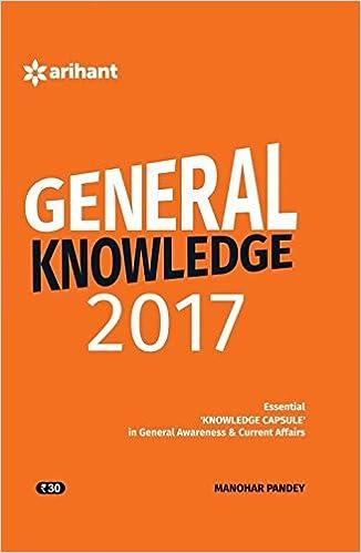 General Knowledge 2017 Essential 'Knowledge Capsule' in