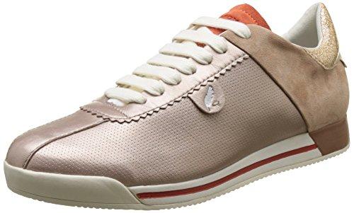 Geox D Chewa a, Zapatillas para Mujer Rosa (ROSE GOLD/DK SKINCH85Q)