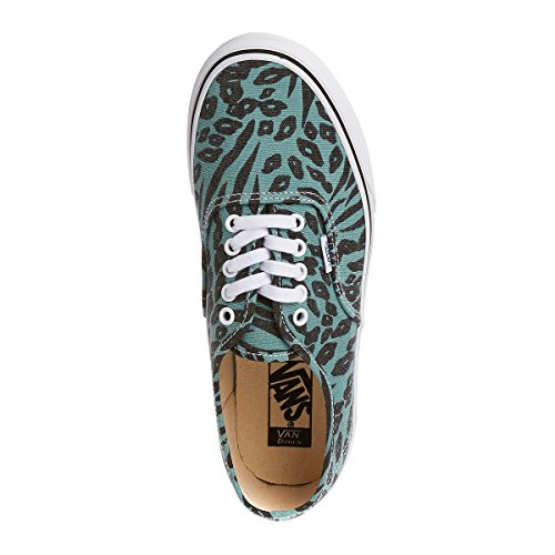 Black Turquoise Women's Vans Shoes Authentic Gym U pcU7cB1wqY