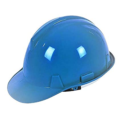 Silverline 633503 - Casco de seguridad (Azul)