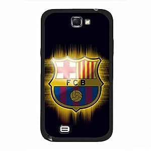 Samsung Galaxy Note 2 funda de Futbol Club Barcelona club de fútbol carcasa de telefono fútbol Logo funda de
