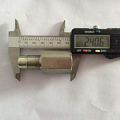Ternence Flynn o2 Sensor For Check Engine Light Adapter Spacer Built-in M18X1.5 Catalytic Converter: Home Improvement