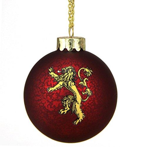 Kurt Adler Game of Thrones glass ball ornament3.5