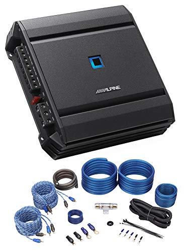 ALPINE S-A32F 320w RMS 4-Channel S-Series Car Audio Amplifier Class D+Amp Kit