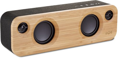 House of Marley, Get Together Mini Bluetooth Portable Audio System , EM-JA013 -SB Singnature Black