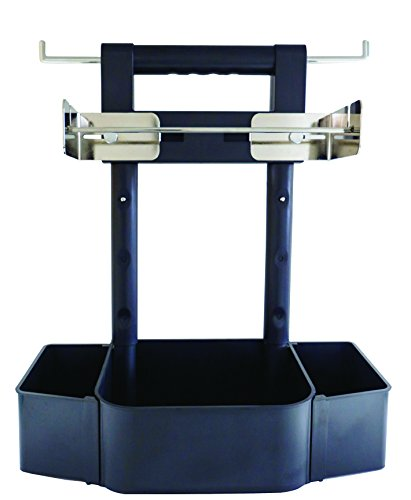 Mr. Bar-B-Q 40291Y Barbecue Caddy, Black