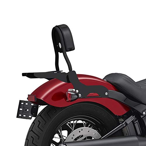 luggage rack for Harley Heritage Softail Classic 114 2018-2019 black Undercustom Sissy bar CL w