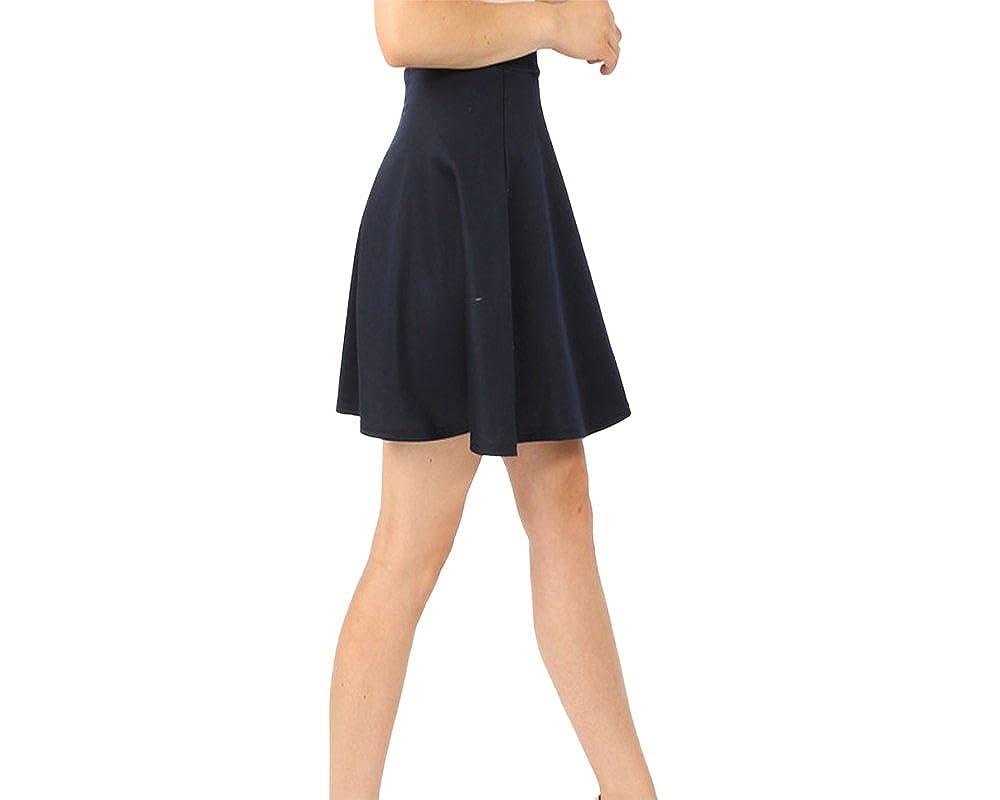Elastic Waist Work Black, Size 4-14 LACHERE Black Skater Skirt School