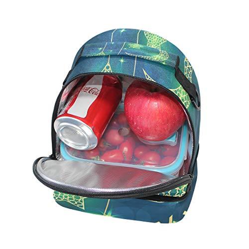 escuela con Bolsa la térmica para hombro para FOLPPLY pincnic ajustable el de correa Stars almuerzo The para 4qOyE6Yw
