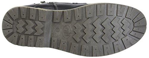 TOM TAILOR Herren 3780806 Klassische Stiefel Schwarz (Black)