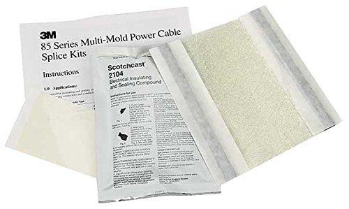 3M Scotchcast 85 Green Epoxy Multi-Mold Resin Splicing Ki...