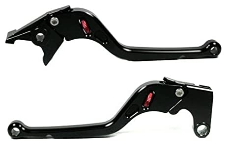 Amazon.com: RW Clutch Brake Levers Long Black for Kawasaki ...